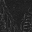 Pure Silk Textured Bow Tie, BLACK, swatch