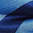 Pure Silk Striped Bow Tie, BLUEBELL, swatch