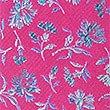 Krawatte aus reiner Seide mit Blumendesign, LEUCHTENDES MAGENTA, swatch