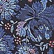Pure Silk Floral Print Tie, BLUE MIX, swatch