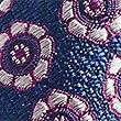 Cravate 100% soie à imprimé fleuri, BLEU, swatch