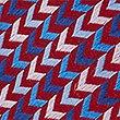 Pure Silk Zigzag Print Tie, MAUVE MIX, swatch