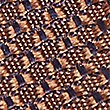 Pure Silk Textured Tie, RUST, swatch