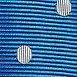 Pure Silk Twill Spotted Tie, BLUE MIX, swatch