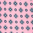 Pure Silk Printed Tie , PINK, swatch