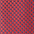 Pure Silk Geometric Print Tie, RED MIX, swatch
