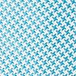 Pure Silk Geometric Print Tie, TURQUOISE MIX, swatch
