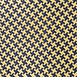 Pure Silk Geometric Print Tie, GOLD MIX, swatch
