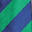 Pure Silk Bold Stripe Tie, GREEN MIX, swatch