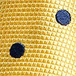 Pure Silk Spotted Tie, YELLOW MIX, swatch