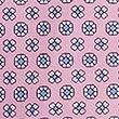 Cravate 100% soie à imprimé fleuri, ROSE ASSORTI, swatch