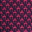 Krawatte aus reiner Seide, MAGENTA, swatch