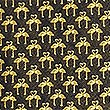 Pure Silk Tie, GOLD MIX, swatch