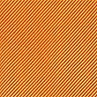 Cravate satinée 100% soie à motif texturé et sergé, ORANGE, swatch