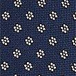 Geometric Print Tie, NAVY MIX, swatch
