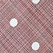 Pure Silk Spotted Tie, DUSKY ROSE, swatch