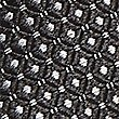 Pure Silk Spotted Tie, DARK GREY, swatch