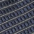 Pure Silk Striped Tie, NAVY, swatch