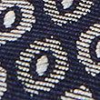 Pure Silk Geometric Print Tie, SLATE BLUE, swatch