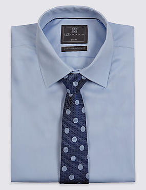 Pure Silk Contemporary Spotted Tie