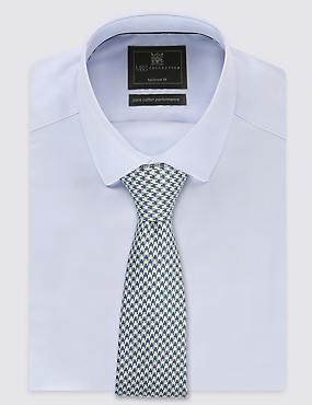 Dogtooth Tie, PERIWINKLE, catlanding