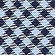 Pure Silk Checked Tie & Pocket Square Set, BRIGHT BLUE, swatch