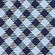 Pure Silk Checked Tie & Pocket Square Set, BRIGHT BLUE, swatch
