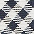 Pure Silk Checked Tie & Pocket Square Set, BLACK MIX, swatch
