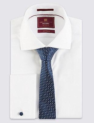 Spotted Neat Tie, NAVY MIX, catlanding