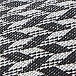 Pure Silk Chevron Zig Zag Print Tie, DENIM MIX, swatch
