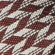 Pure Silk Chevron Zig Zag Print Tie, OXBLOOD, swatch