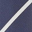 Pure Silk Striped Tie, NAVY MIX, swatch