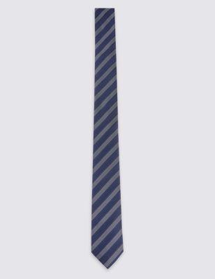 Узкий галстук в полоску Pindot