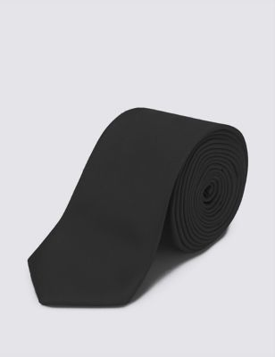 Однотонный галстук из фактурной ткани Limited Edition T127436