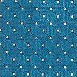 Pure Silk Spotted Textured Tie, KINGFISHER, swatch