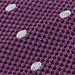 Pure Silk Spotted Tie & Pocket Square Set, FUCHSIA MIX, swatch
