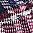 Pure Silk Checked Tie, MAGENTA MIX, swatch
