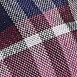 Pure Silk Checked Tie, MAGENTA MIX, swatch