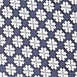 Pure Silk Geometric Print Tie, NAVY MIX, swatch