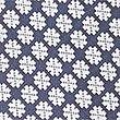 Cravate 100% soie à imprimé géométrique, BLEU MARINE ASSORTI, swatch