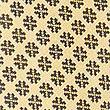 Cravate 100% soie à imprimé géométrique, JAUNE ASSORTI, swatch