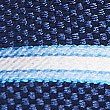 Pure Silk Striped Tie, RICH BLUE, swatch