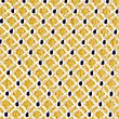 Pure Silk Textured Tie & Pocket Square Set, YELLOW MIX, swatch