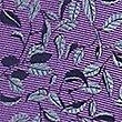 Pure Silk Floral Print Tie, MAGENTA MIX, swatch