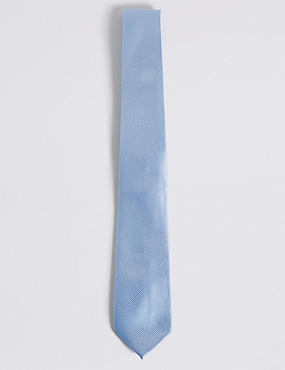 Cravate sergée, BLEUET, catlanding
