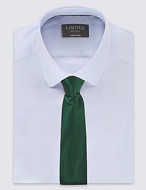 Plain Tie, MEDIUM GREEN, catlanding