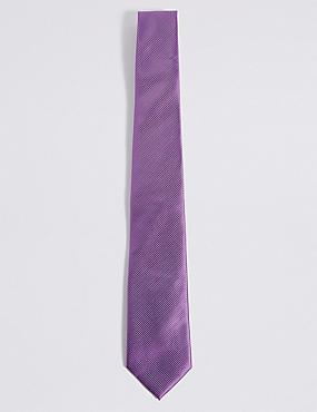 Twill Tie, SOFT MAGENTA, catlanding