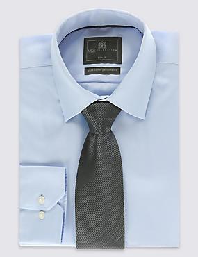Plain Tie, GREY, catlanding