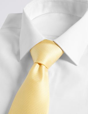 Однотонный мужской галстук