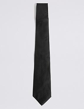 Cravate sergée, NOIR, catlanding